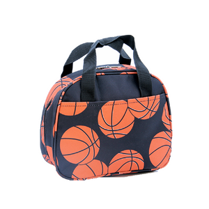 Sports Football Basketball Baseball Volleyball Softball Insulated Lunch Box Bag Case