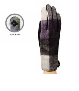 Tablet Pad Smart Cell Phone Touchscreen Compatible Finger Tip Winter Gloves