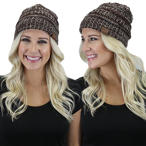 Sunshine & Rodeos Winter Fall Knitted Acrylic Western Toboggan Skully Beanie Hat