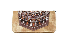 Montana West Embroidery Aztec Feather Messenger Bag Purse Wallet Brown Tan Black