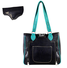 American Bling Dual Left Right Concealed Carry Purse Shoulder Bag Pocketbook