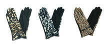 Cheetah Leopard Touchscreen Finger Tip Gloves Tablet Pad Cell Phone Compatible