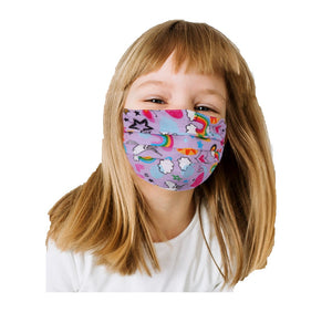 Reusable Child Face Mask Girl Boy Kid Washable Shield Mouth Nose Cloth Cover
