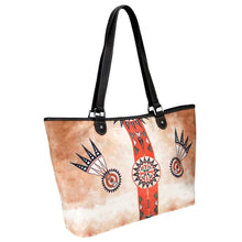 Montana West Dual Sided Tote Shoulder Bag Purse Beige Tan Brown Longhorn Aztec Wild Child