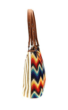 Montana West Serape Stripes Tote Aztec Chevron Purse Canvas Shoulder Bag