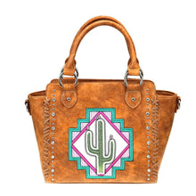 Montana West Cactus Aztec Concealed Carry Messenger Bag Purse Shoulder Handbag