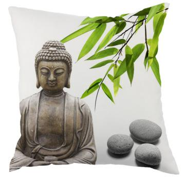 Buddha Printed Design Decorative Pillow Case TranZENdent Stunning Buddha Decorative Pillows