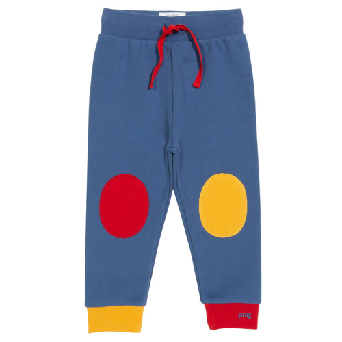 Kite Knee Patch Joggers Navy - The Thrifty Stork