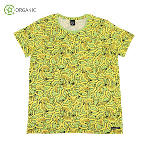 Villervalla T-Shirt Short Sleeve  Banana - The Thrifty Stork