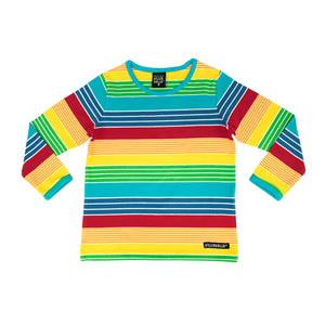 Villervalla T-Shirt L/S - Multistripe - New York