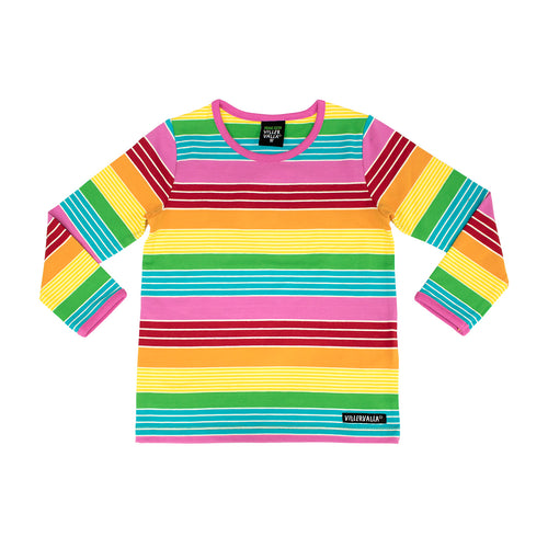 Villervalla T-Shirt Long Sleeve - Multistripe - Sydney