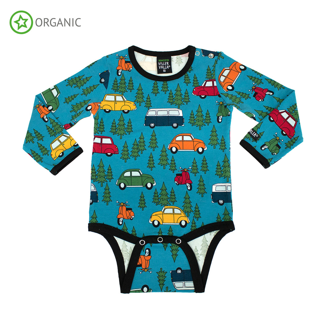 Villervalla Forest Car Body Long Sleeve - Fjord
