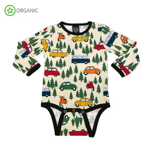Villervalla Forest Car Body Long Sleeve - Oat