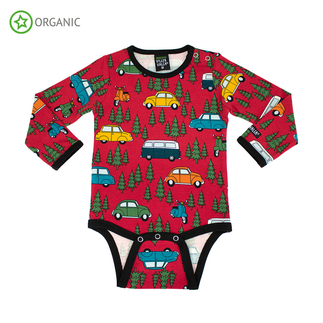 Villervalla Forest Car Body Long Sleeve - Tango