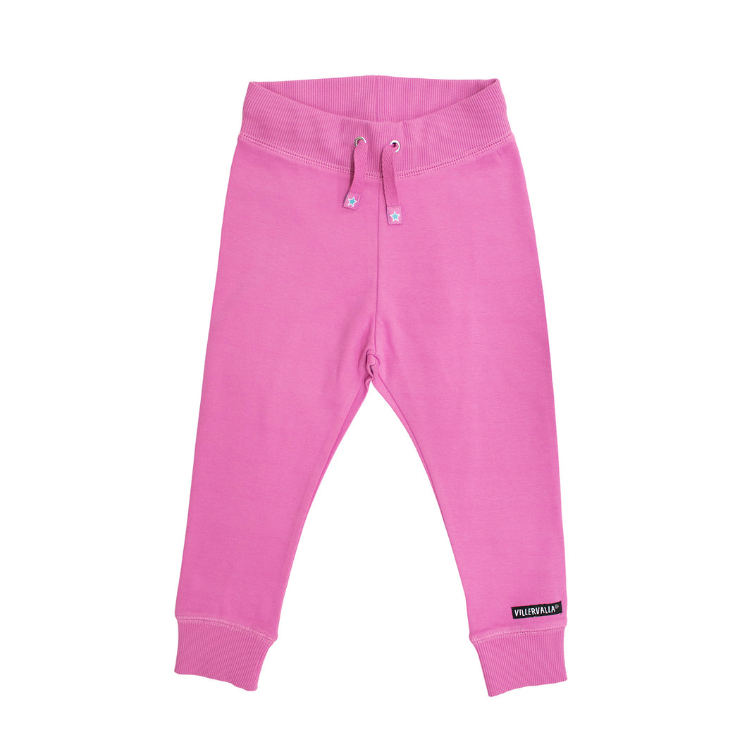 Villervalla Relaxed Joggers - College Wear - Petunia