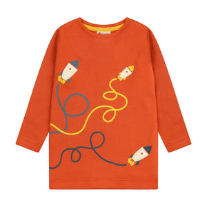 Piccalilly Top Long Sleeve - Rockets