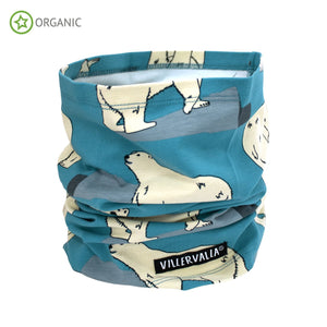 Villervalla Tube Scarf - Polar Bear - The Thrifty Stork