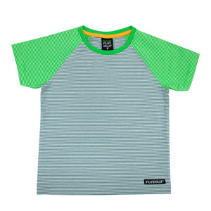 Villervalla Relaxed T-Shirt Short Sleeve - Cement/Pea