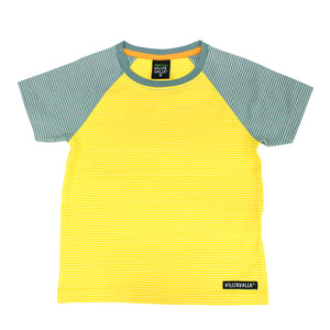Villervalla Relaxed T-Shirt Short Sleeve - Sunflower/Cement