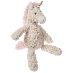 Mary Meyer Unicorn Soft Toy - Putty White - Medium