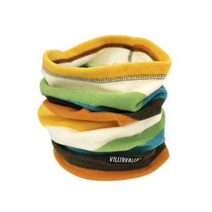 Villervalla Multistripe Fleece Tube Scarf - Cairo - The Thrifty Stork