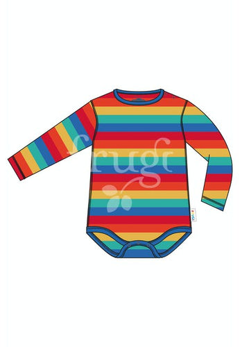 Frugi, Favourite Body, Rainbow Stripe