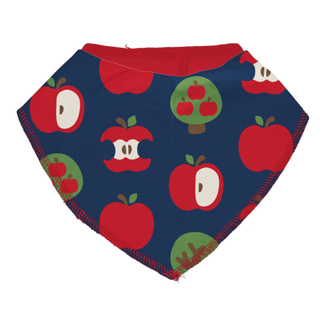 Maxomorra Bib Dribble Apple - The Thrifty Stork