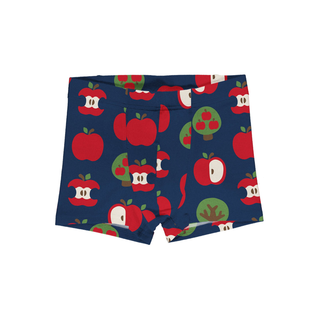 Maxomorra Boxer Shorts Apple - The Thrifty Stork