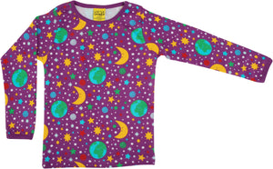 DUNS Sweden Top Long Sleeve - Mother Earth Bright Violet