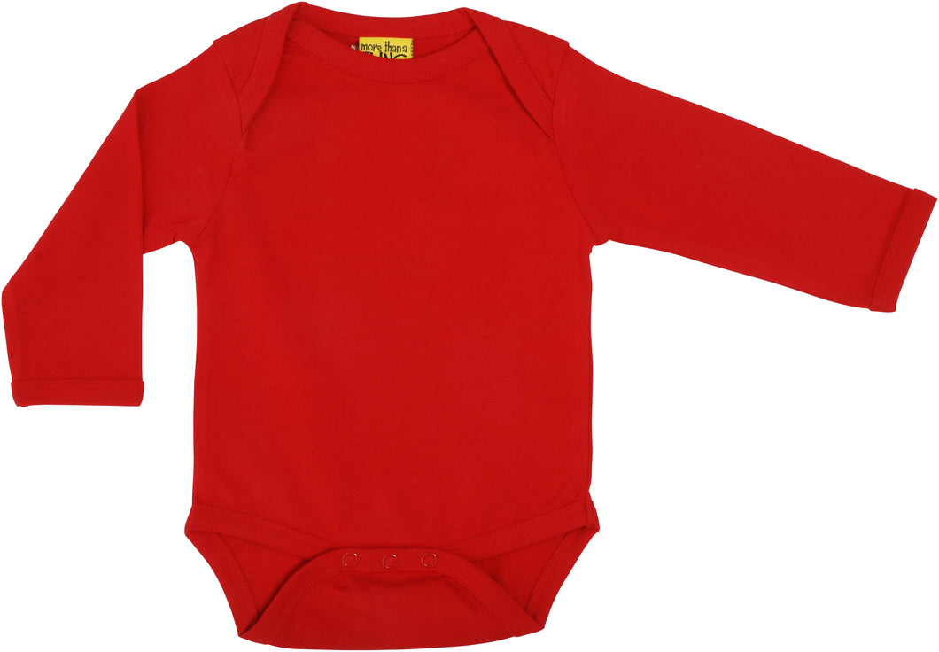 Duns Sweden Long Sleeve Lapneck Body - More Than A Fling Red *