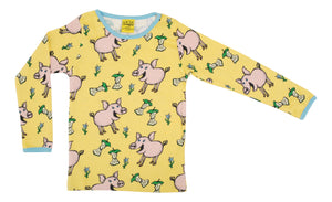 DUNS Long Sleeve Top Pig - Aspen Gold