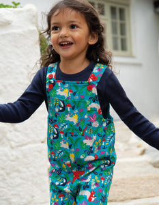 Frugi  Parsnip Dungaree Woodland Critters