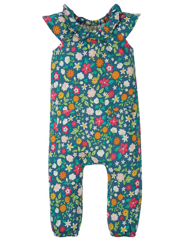 Frugi, Maya Dungaree, Flower Valley