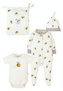 Frugi Buzzy Bee Baby Gift Set Buzzy Bee - The Thrifty Stork