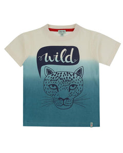 Lilly And Sid Dip Dye Wild T-Shirt - The Thrifty Stork