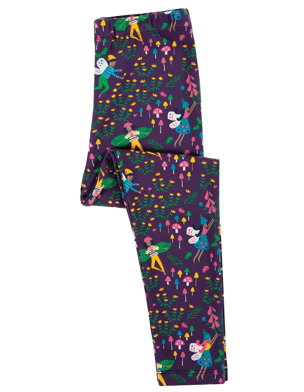 Frugi  Libby Printed Leggings Fairy Friends