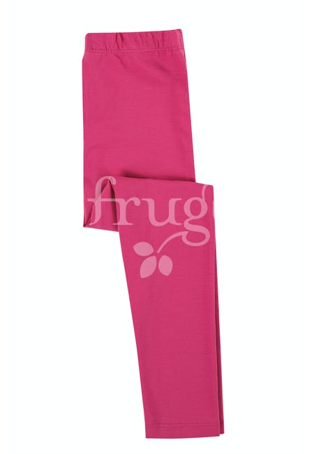 Frugi Libby Leggings - Rich Pink