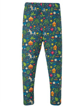 Frugi, Libby Printed Leggings, Indigo Farm - Indie Exclusive!