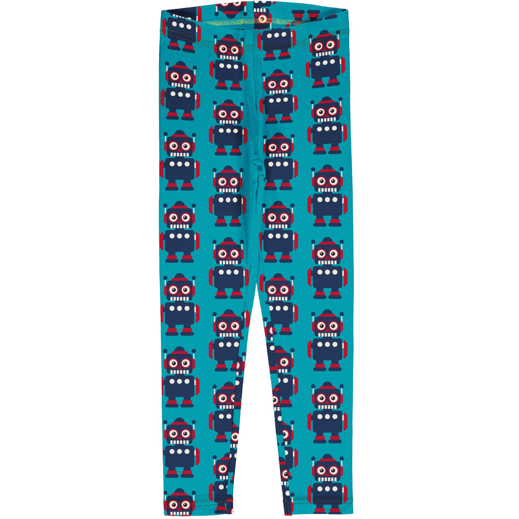 Maxomorra Leggings Classic Robot - The Thrifty Stork