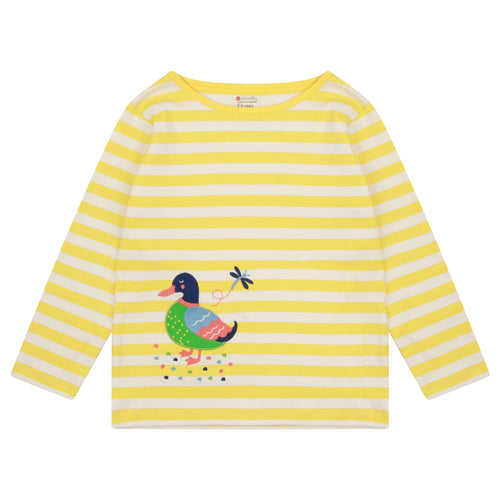 Piccalilly Duck Stripe Top - The Thrifty Stork