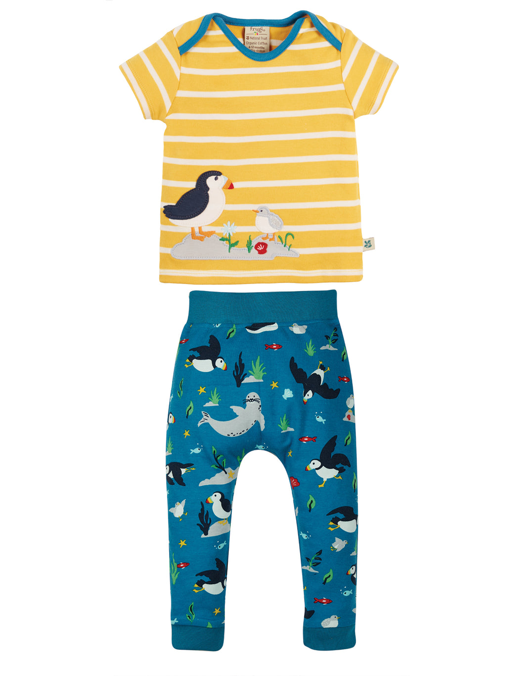 Frugi The National Trust Olly Outfit Puffin