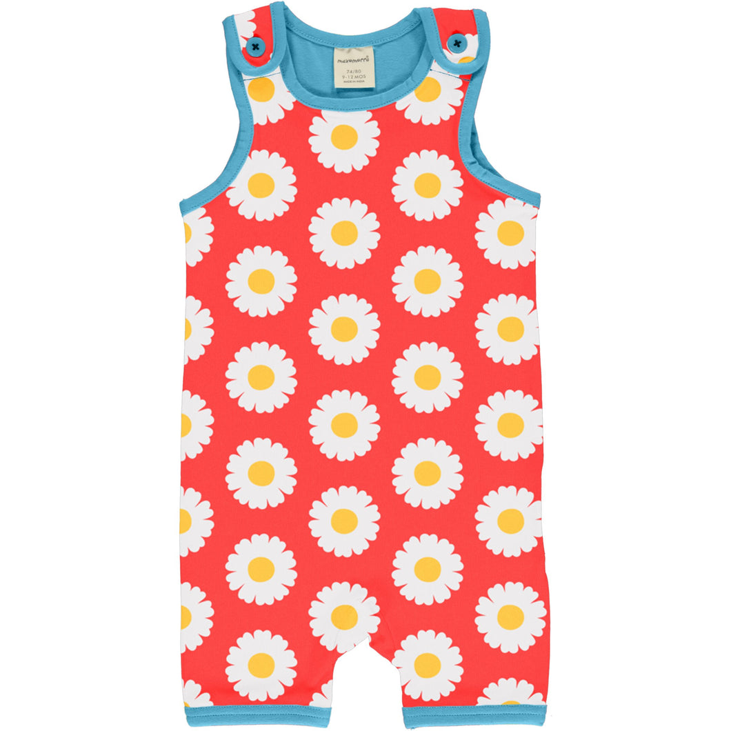 Maxomorra Playsuit Short DAISY