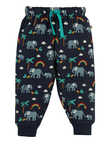 Frugi Snuggle Crawlers - Indigo Rainbow Walks