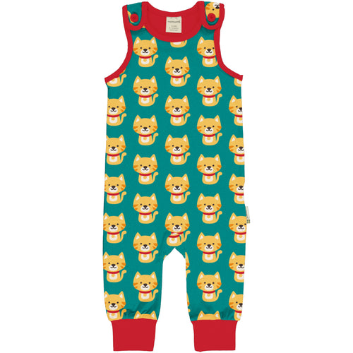 Maxomorra Playsuit Cat