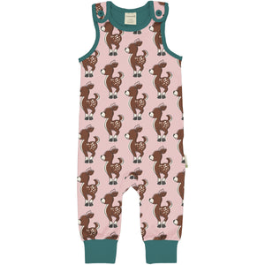Maxomorra Playsuit Fawn