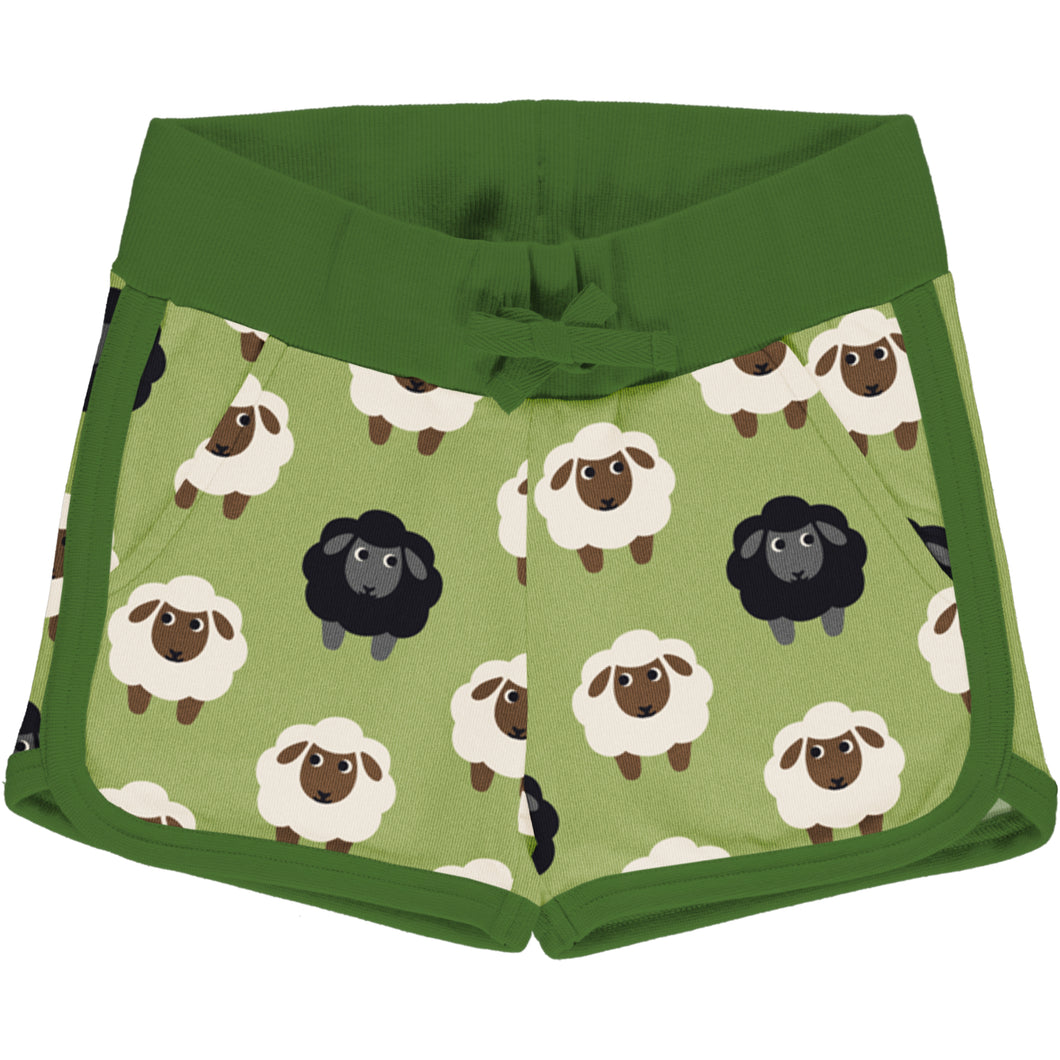Maxomorra Runner Shorts Sweat - Sheep