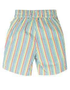 Frugi Akiara Shorts Multi Seersucker Stripe