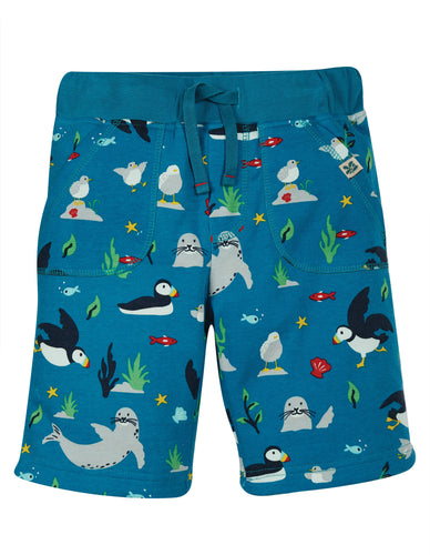 Frugi The National Trust Reversible Shorts - Puffin