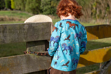 Coddi & Womple Long Sleeve Tops Storm Horse Blue - NEW RELEASE!