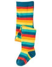 Frugi Tamsyn Tights Rainbow Multi Stripe